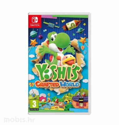 Yoshi's Crafted World igra za Nintendo Switch