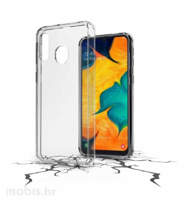 Plastična zaštita za Samsung Galaxy A40 2019: prozirna