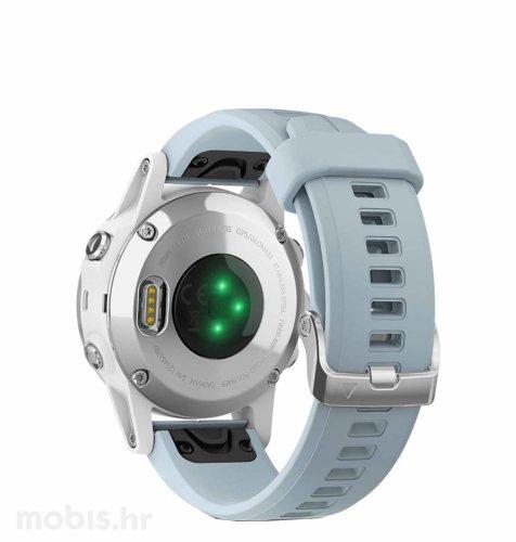 Garmin Fenix 5S Plus: bijeli ( svijetlo-plavi remen )