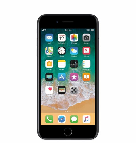 Apple iPhone 7 Plus 256GB: crni