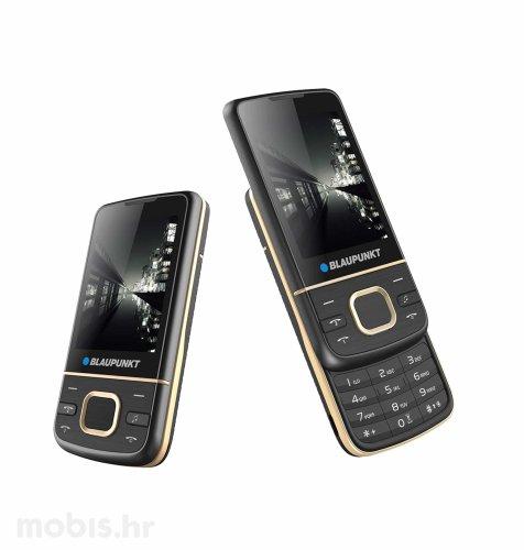 Blaupunkt FM 01 Slider Dual SIM 32MB/32MB: crni