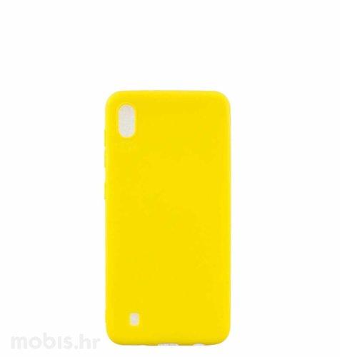 Silikonska maskica za Samsung Galaxy A10: žuta