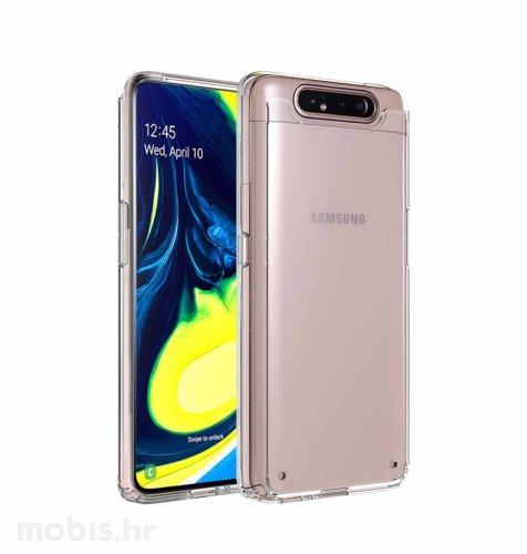 Silikonska maskica za Samsung Galaxy A80: prozirna