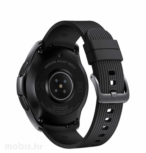Samsung R810 Galaxy Watch: crni