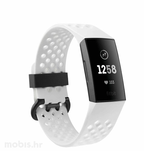 Fitbit Charge 3 special edition: sivo bijeli