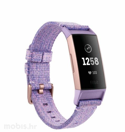 Fitbit Charge 3 special edition: ljubičasti