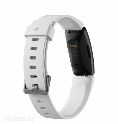 Fitbit Inspire HR pametna narukvica: bijela