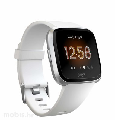 Fitbit Versa lite edition: bijelo-srebrno aluminum