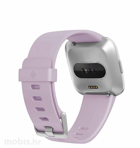 Fitbit Versa lite edition: lilac-silver aluminum