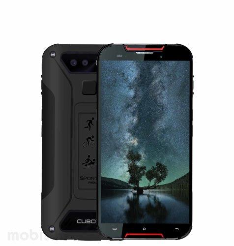Cubot Quest Lite 3GB/32GB: crno-crveni