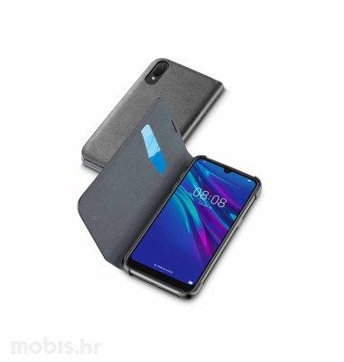 Cellular line preklopna zaštita za uređaj Huawei Y6 2019 : crna