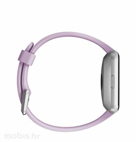 Fitbit Versa lite edition: ljubičasto-srebrni aluminum