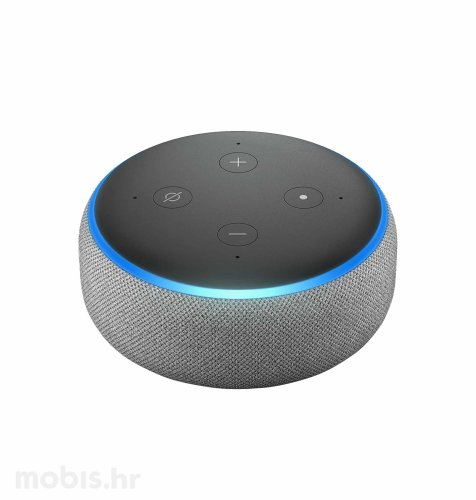 Amazon Echo Dot bluetooth zvučnik (3rd generation): sivi