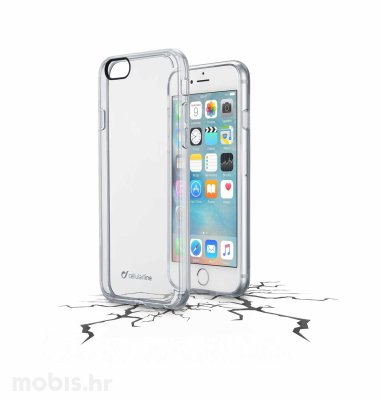Cellular line plastična zaštita za uređaj Apple iPhone 6: prozirna