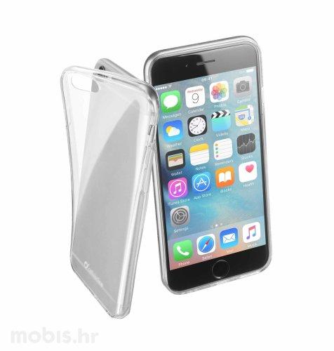 Cellular line silikonska maskica za uređaj Apple iPhone 6: prozirna