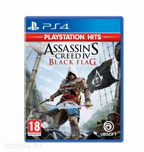 Assassin's Creed 4 Black Flag HITS igra za PS4