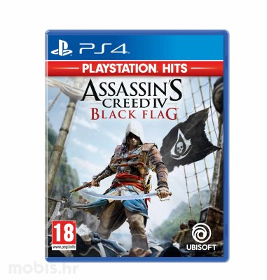Assassin's Creed 4 Black Flag HITS igra za PS4