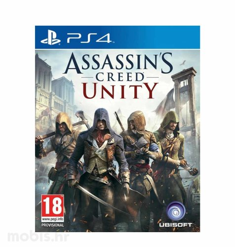 Assassin's Creed: Unity Standard Edition igra za PS4