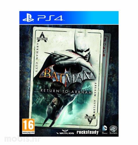 Batman Return to Arkham igra za PS4