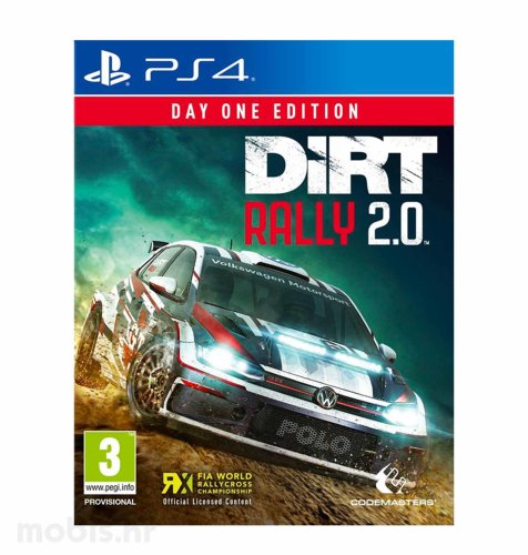 DIRT Rally 2.0 Day One Edition igra za PS4
