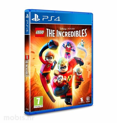 Lego Incredibles Standard Edition igra za PS4