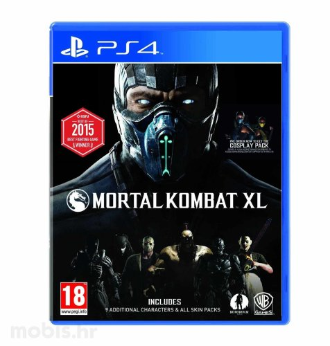 Mortal Kombat XL igra za PS4
