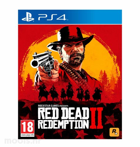 Red Dead Redemption 2 igra za PS4