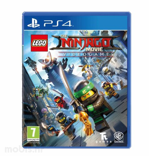 The Lego Ninjago Movie Videogame igra za PS4