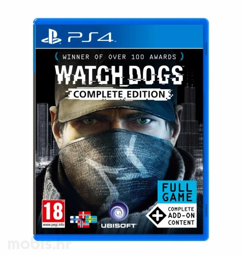 Watch Dogs Complete igra za PS4