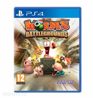 Worms Battlegrounds igra za PS4