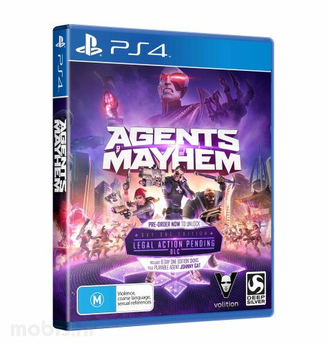 Agents of Mayhem igra za PS4