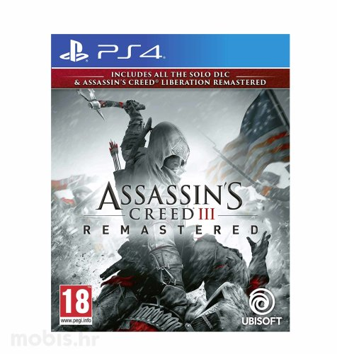 Assassin's Creed 3 & AC Liberation HD Remaster igra za PS4