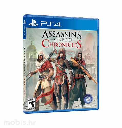 Assassin's Creed Chronicles Pack igra za PS4