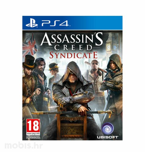 Assassin's Creed: Syndicate igra za PS4