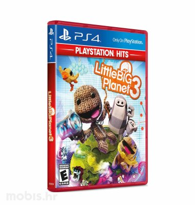 Little Big Planet 3 HITS igra za PS4