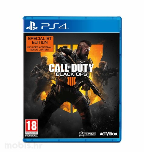 Call of Duty: Black Ops 4 Specialist igra za PS4