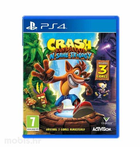 Crash Bandicoot N. Sane Trilogy 2.0 igra za PS4