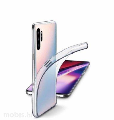 Cellular Line silikonska maskica za uređaj Samsung Galaxy Note 10: prozirna