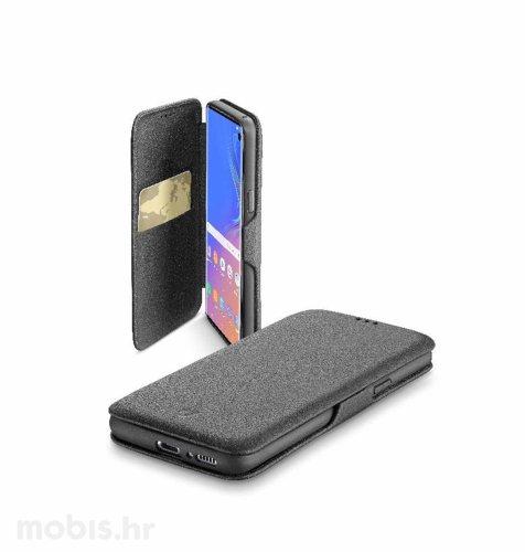 Cellular line preklopna kožna maskica za Samsung Galaxy Note 10: crna