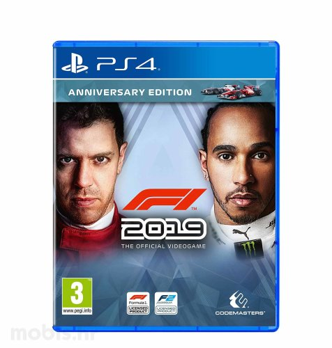F1 2019 Anniversary Edition igra za PS4