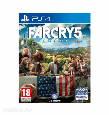 Far Cry 5 Standard Edition igra za PS4