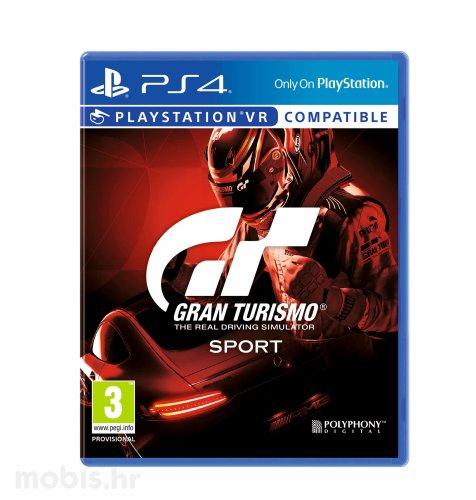 Gran Turismo Sport Standard Edition igra za PS4