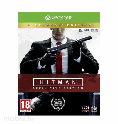 Hitman: Definitive Steelbook D1 Edition igra za PS4