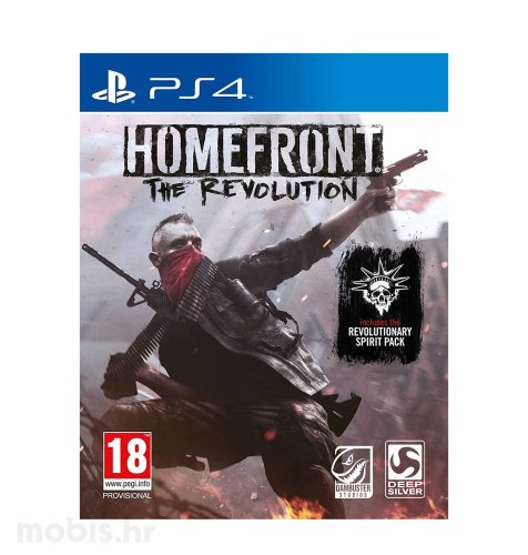 Homefront: The Revolution igra za PS4