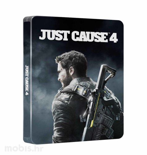 Just Cause 4 Day One Edition (Steelbook + Neon Racer DLC) igra za PS4