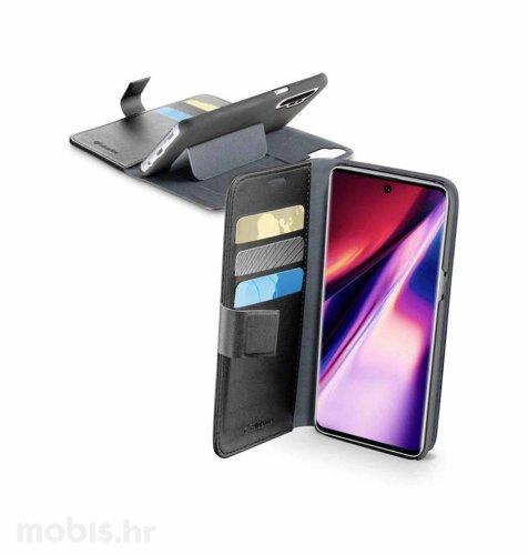 Cellular line preklopna kožna maskica za Samsung Galaxy Note 10+: crna