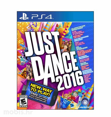 Just Dance 2016 igra za PS4