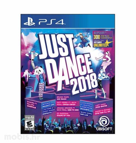 Just Dance 2018 igra za PS4
