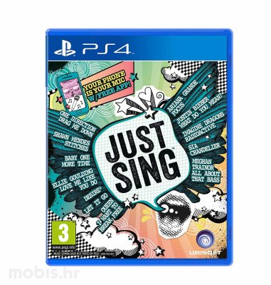 Just Sing igra za PS4