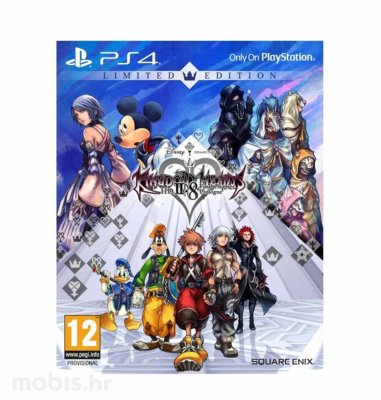 Kingdom Hearts 2.8 Limited Edition igra za PS4
